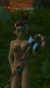 Jenn, avec un sucre d'orge, culotte verte et sous tif marron Wiva base 50 (pour ressembler à Craft)