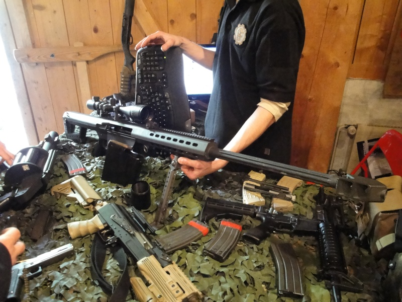 photos salon de l 39 airsoft en suisse