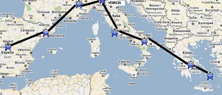 primer inter rail italia grecia primeros pasos