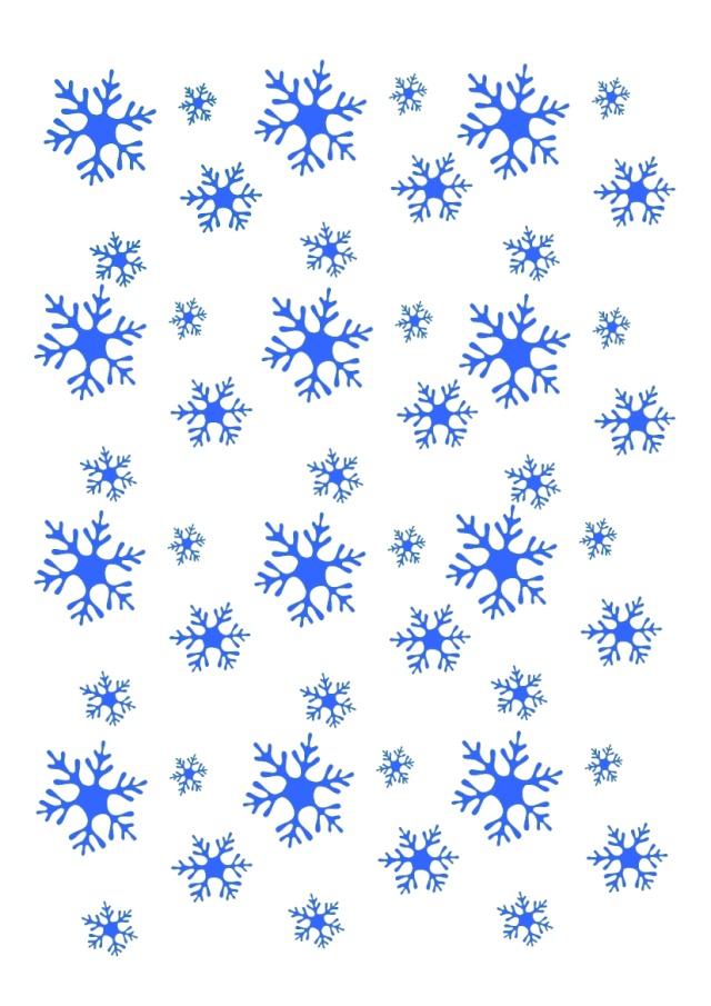 Fonds et transparents imprimer archive at - Gabarit flocon de neige a decouper ...