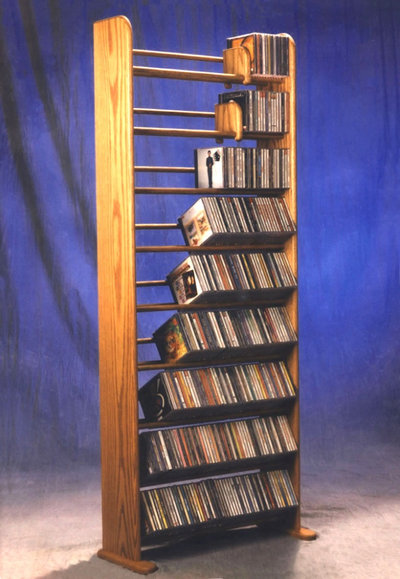How To Make A Cd Rack From Wood Plans Diy Free Download Tv