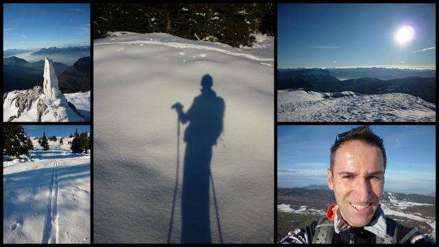 Première neige ... dans Nos ballades 21-11-13