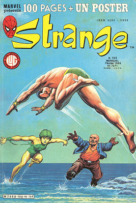Semic  Strange Lug poster attaché N° 198