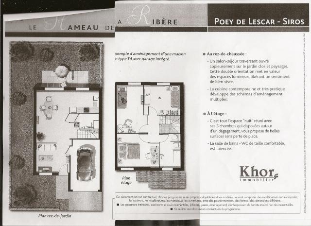 Plan des maisons ou appartements type for Plan de maison type