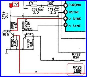 Схема телевизора на шасси 3y01