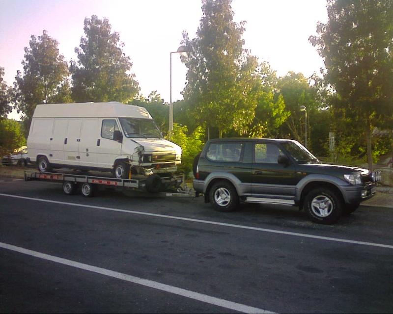 Transport d 39 un u23 sur remorque plateau - Location plateau porte voiture super u ...