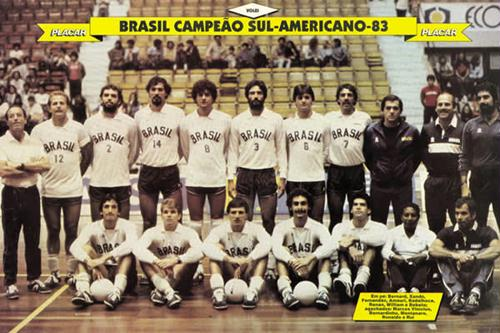 1983: Ano em que o Vôlei Brasileiro Nasceu para o Mundo
