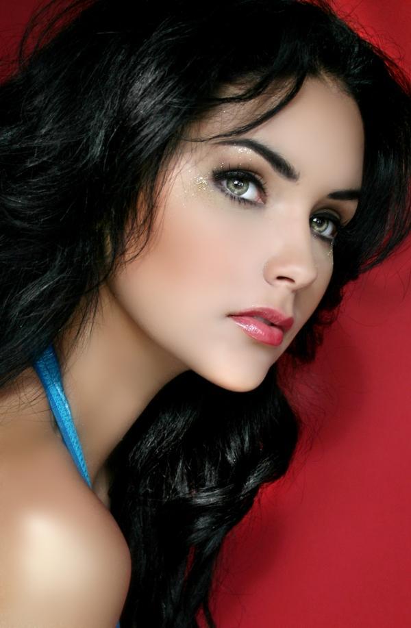 most beautiful girl blue - photo #20