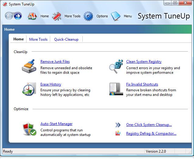 برنامج System TuneUp 3.0.0.434 السريال