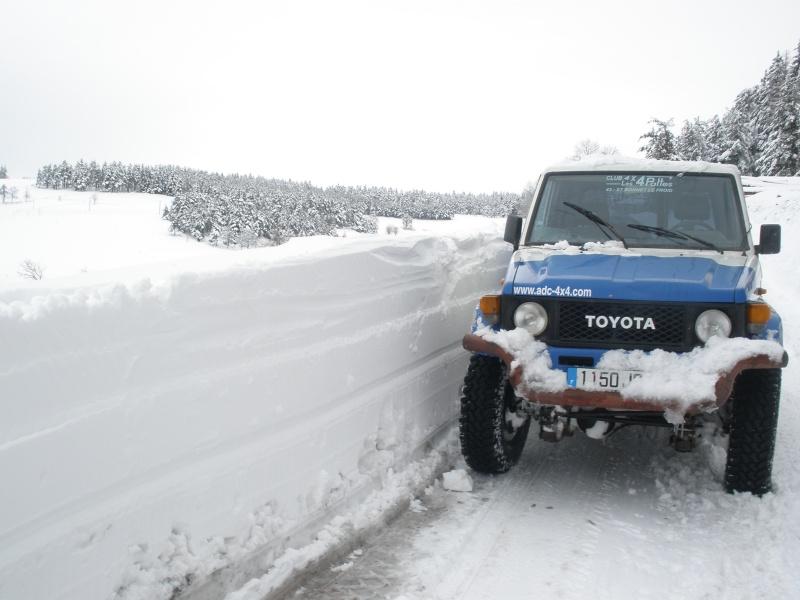 L hiver reprend ces quartiers for Garage 4x4 st bonnet froid