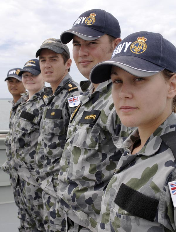 Navy federal posting dates in Australia