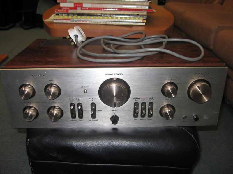 luxman l 85v integrated amplifier used sold. Black Bedroom Furniture Sets. Home Design Ideas