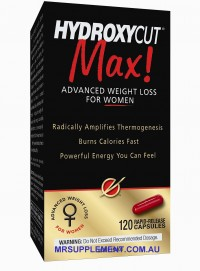 Quemagrasas Hydroxycut Max para mujeres de MuscleTech
