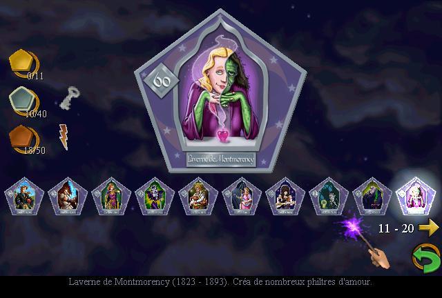 Les cartes de collection des sorciers et sorci res - Harry potter et la chambre des secrets pc download ...