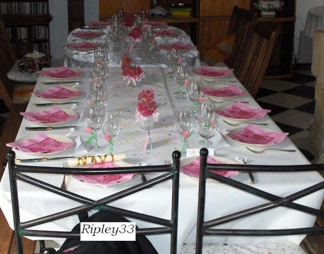 Des id es pour la table la d co page 2 for Decoration de table pour bapteme fille