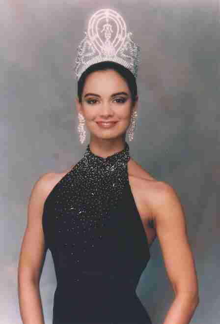 Now and Before- Lupita Jones Miss Universe 1991