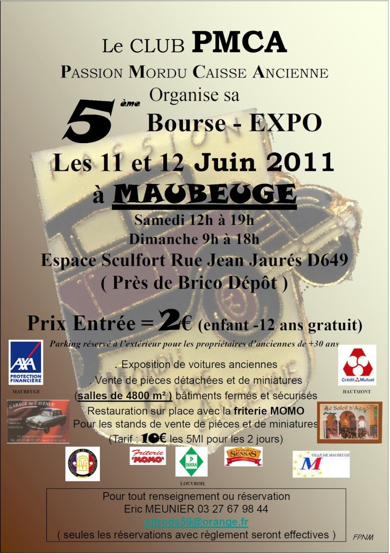 5 me bourse expo du club pmca maubeuge 59 11 12 for Bourse exterieur gratuit