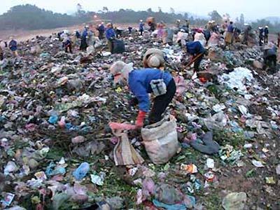 Một số hình ảnh về ô nhiễm môi trường
