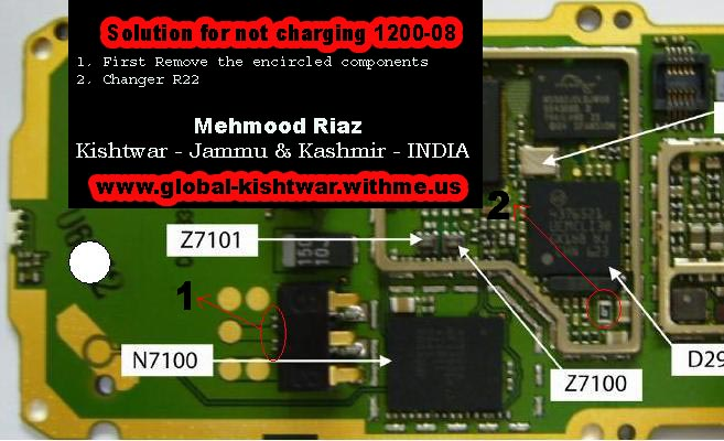 Nokia 1208 Not Charging Solution