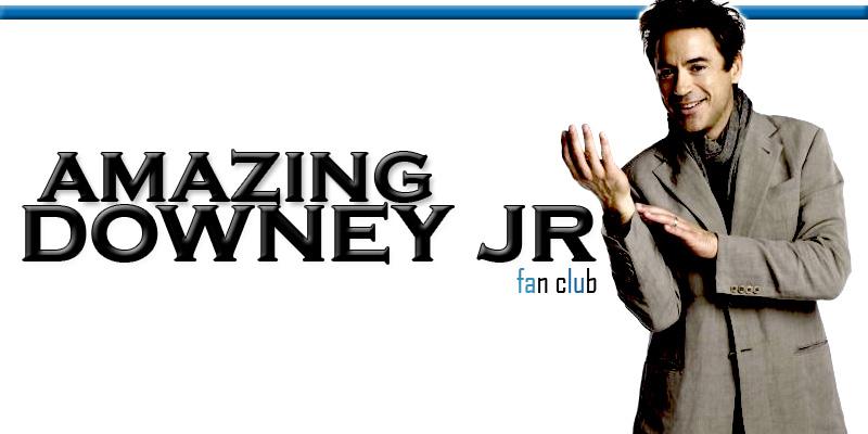 Amazing Robert Downey Jr