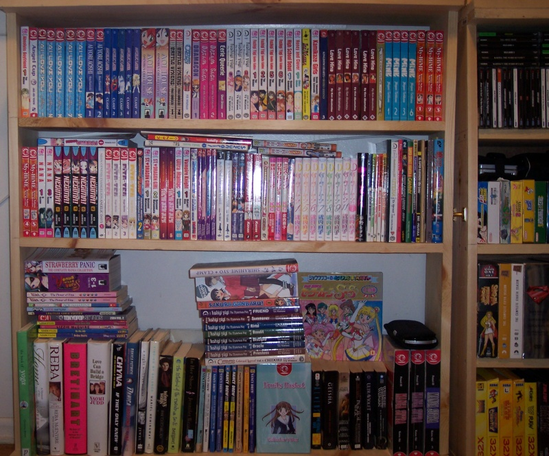 Not My Entire Manga Collection This Is About 1 4 Of On The Shelf There Thats TO READ Self With Everything Im Planning To Read