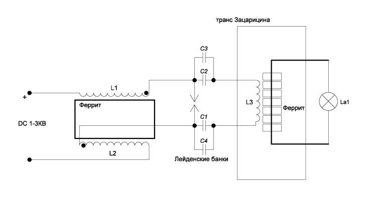 схема электричество из