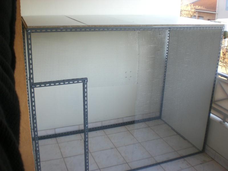 Projet voliere sur balcon page 1 for Construire une voliere exterieur