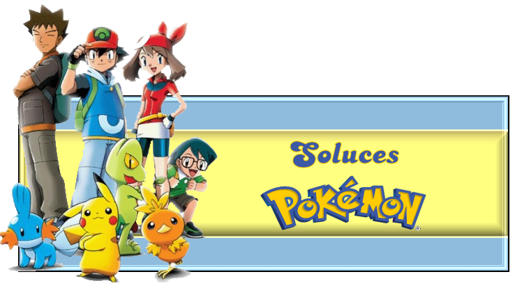Soluces sur Pokémon DS