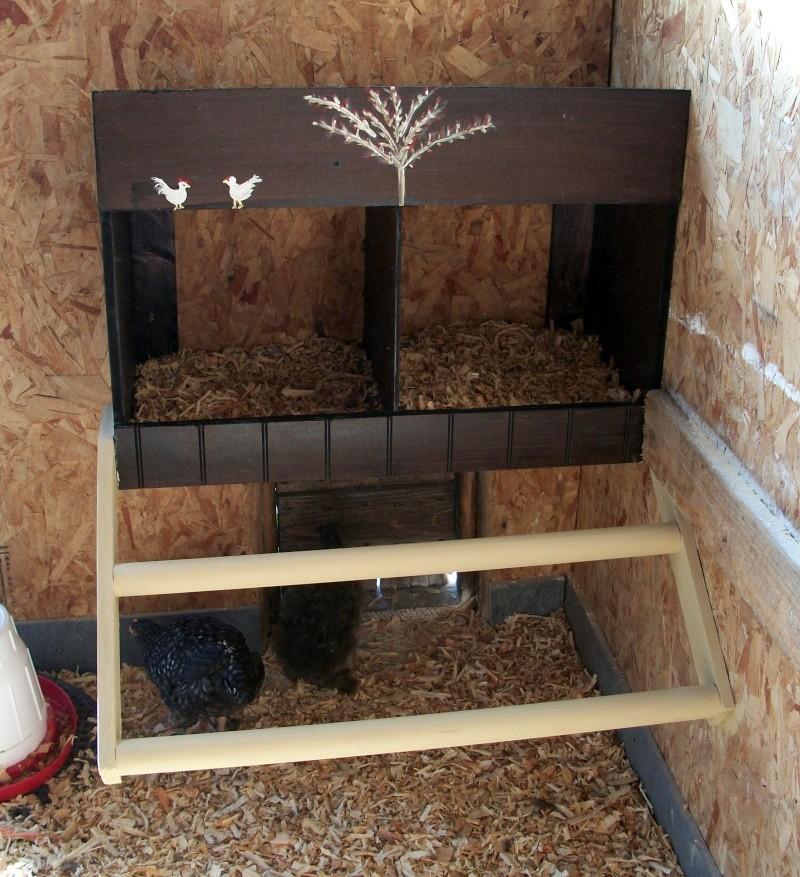 Id es pour pondoir - Maison pour les poules ...