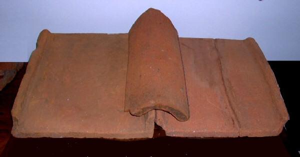 tuile romaine tegulae et imbrice