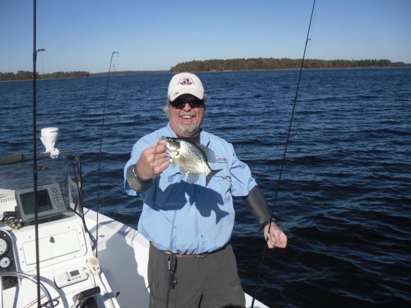 Harris crappie report for Lake elsinore fishing report
