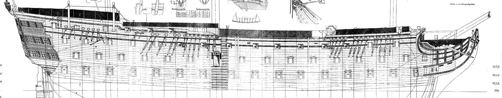 H m s victory da piani costruzione della amati pagina 2 for Piano di costruzione online