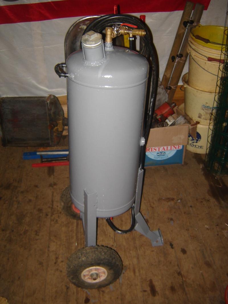 Sableuse artisanal - Pression d eau pour une maison ...