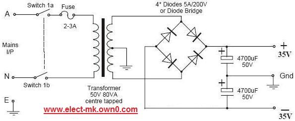 50 w amplifier module tda7294