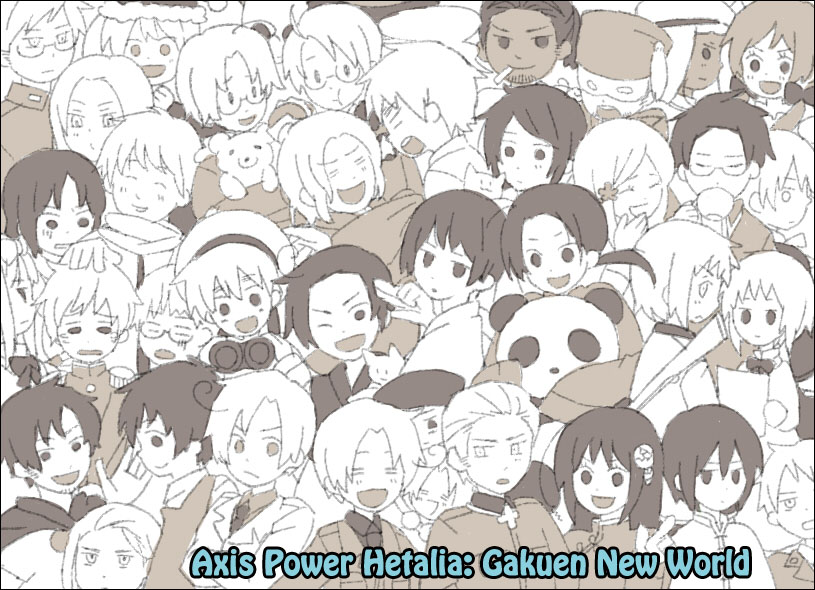 Axis Power Hetalia: Gakuen New World