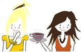 Papoter autour d'une café, thé ...