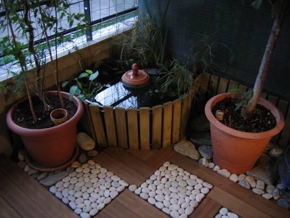 Petit bassin d 39 agr ment - Bassin rond en bois strasbourg ...