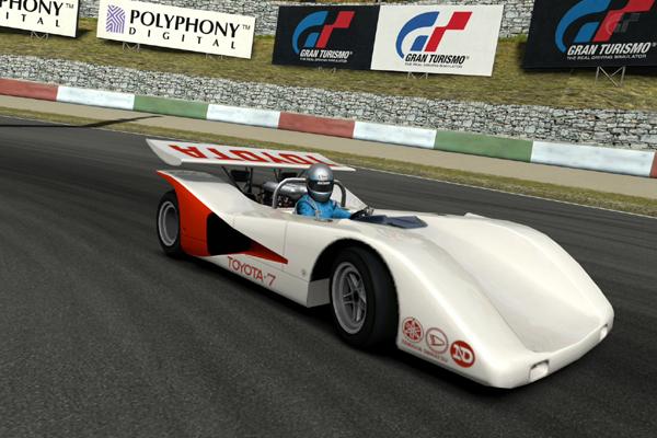 toyota 7 race car 39 70. Black Bedroom Furniture Sets. Home Design Ideas